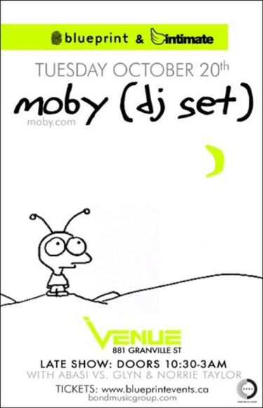 Moby dj set tuesday october 20 2009 venue intimate moby dj set tuesday october 20 2009 venue intimate productions vancouver bc canada malvernweather Image collections