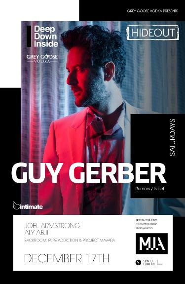 Guy gerber saturday december 17 2016 mia intimate guy gerber saturday december 17 2016 mia intimate productions vancouver bc canada malvernweather Images