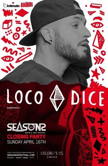 Loco dice sunday april 16 2017 celebrities nightclub loco dice sunday april 16 2017 celebrities nightclub intimate productions vancouver bc canada malvernweather Images